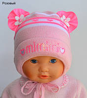 Красивая шапочка для новорожденных