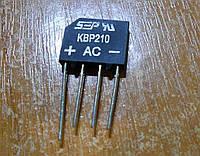 Диодный мост КBP210 2А 1000В