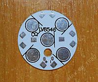 Подложка для светодиодов на 5 шт 0.5-3Вт 28мм