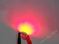 1Вт светодиод 35лм красный 350mA 620нм