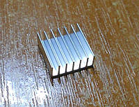 Радиатор Ш-образный 14*14*5мм алюминий