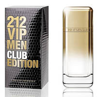 Мужская туалетная вода Carolina Herrera 212 VIP Men Club Edition (Каролина Эррера 212 ВИП Мен Клаб Эдишен)