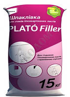 Шпаклевка Plato Filler, 15 кг, Фугенфюллер
