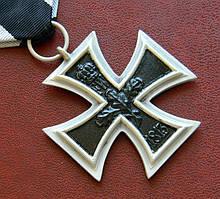 Железный крест 2 -го класса периода Первой мировой войны.