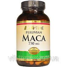 Life Time, Перуанская мака, 750 мг, 120 капсул