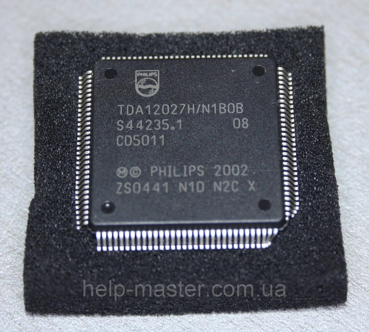 Процесор TDA12027H/N1BOB; (QFP2828-128)