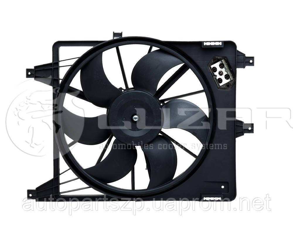 renault symbol вентилятор охлаждения