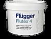 Краска Flugger Flutex 4 (флюгер флютекс 4)- 3л, для стен и потолка матовая, латексная(бюджетная)