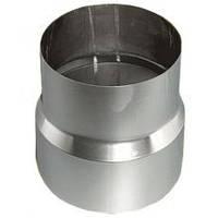 Переходник из нержавеющей стали (Aisi 201) 0,5 мм Ø100