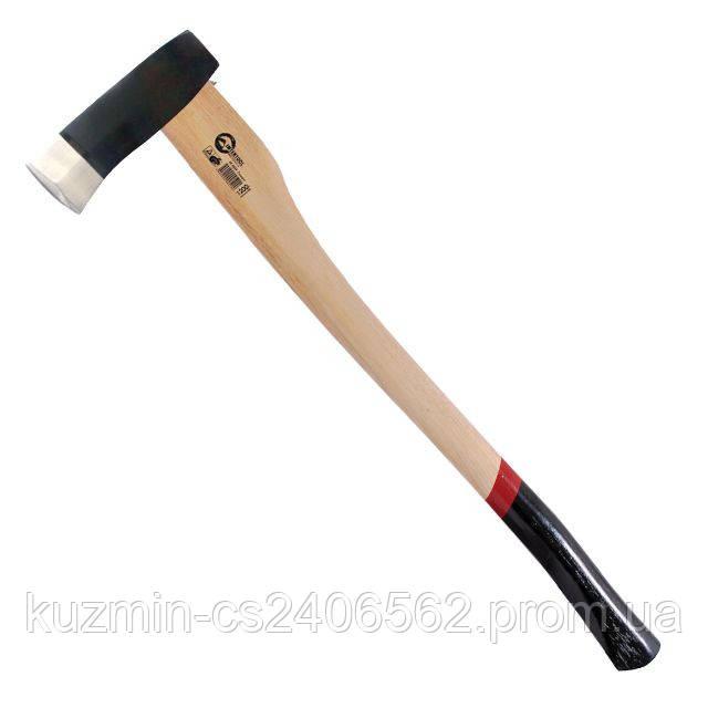 Колун 2500 г c деревянной ручкой (пекан) INTERTOOL HT-0273