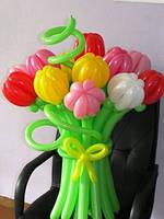 №11 Букет тюльпанов из шаров