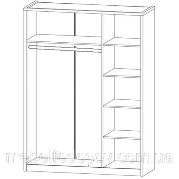шкаф 3д бьянко