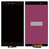 Дисплей Sony Xperia Z Ultra C6802 XL39h, C6806, C6833 /black/ complete