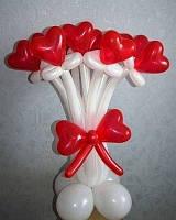 №16 Букет из шаров-сердец