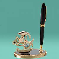 "Ручки на подставке знаки зодиака ""Козерог"""