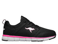 Кроссовки женские Kangaroos Floater Black/Neon Pink