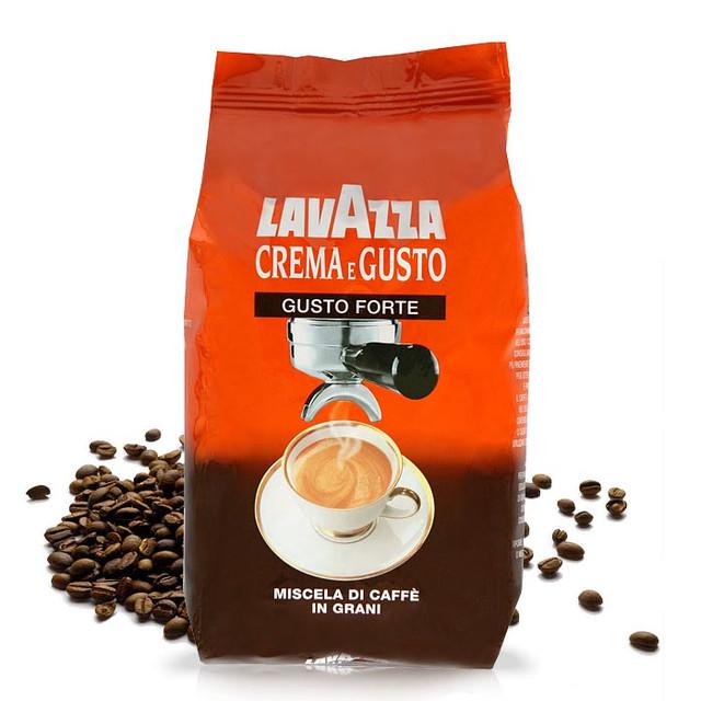 Кофе в зернах Lavazza Espresso Crema e Gusto Forte 1 кг.