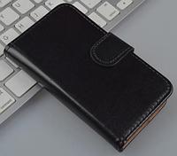 Кожаный чехол-книжка для Sony Xperia Go ST27i черный
