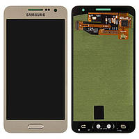 Дисплей Samsung A3/A300 Galaxy /gold/ complete