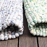 Шикарні незвичайні килими з валяної вовни під мармур, фото 2