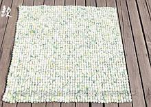 Шикарные необычные ковры из валяной шерсти под мрамор