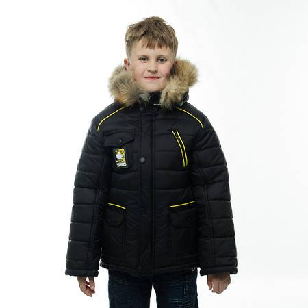 """Детская зимняя куртка """"Команда"""" для мальчика"""