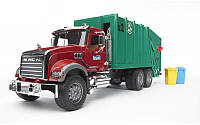 Игрушка - мусоровоз Mack Granite, Bruder 02812