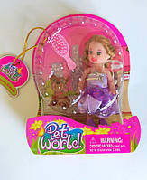 Куколка, подарочный набор, куколка с аксессуарами