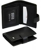 Бумажник мужской Dr.Bond MS9-50436 черный из натуральной кожи
