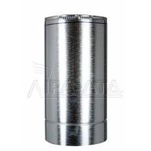 Труба-сэндвич дымовая (термо) 0,5 метра 1 мм н/оц AISI 321