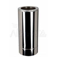 Труба для дымохода (термо) 0,5 метра 1мм н/н AISI 321