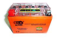 Аккумуляторная батарея 12V9A YTX9-BS (iGEL) с индикатором Outdo