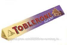 Шоколад молочный Toblerone fruit & nut 0.100 гр