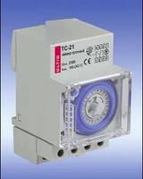 Суточный таймер TС-21 полтава, tc-21 eltis, реле времени полтава, Таймер ТЭМ181 аналоговый