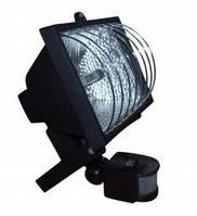 Прожектор ИО 150 Д (детектор) галогенный с решёткой чёрный IP 54 (Акция)