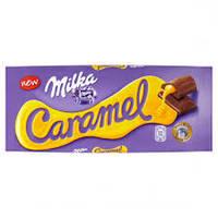 Молочный шоколад Milka caramel 0.100 гр