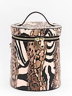 Сумка женская змеиной расцветки, на одну ручку, одно отделение