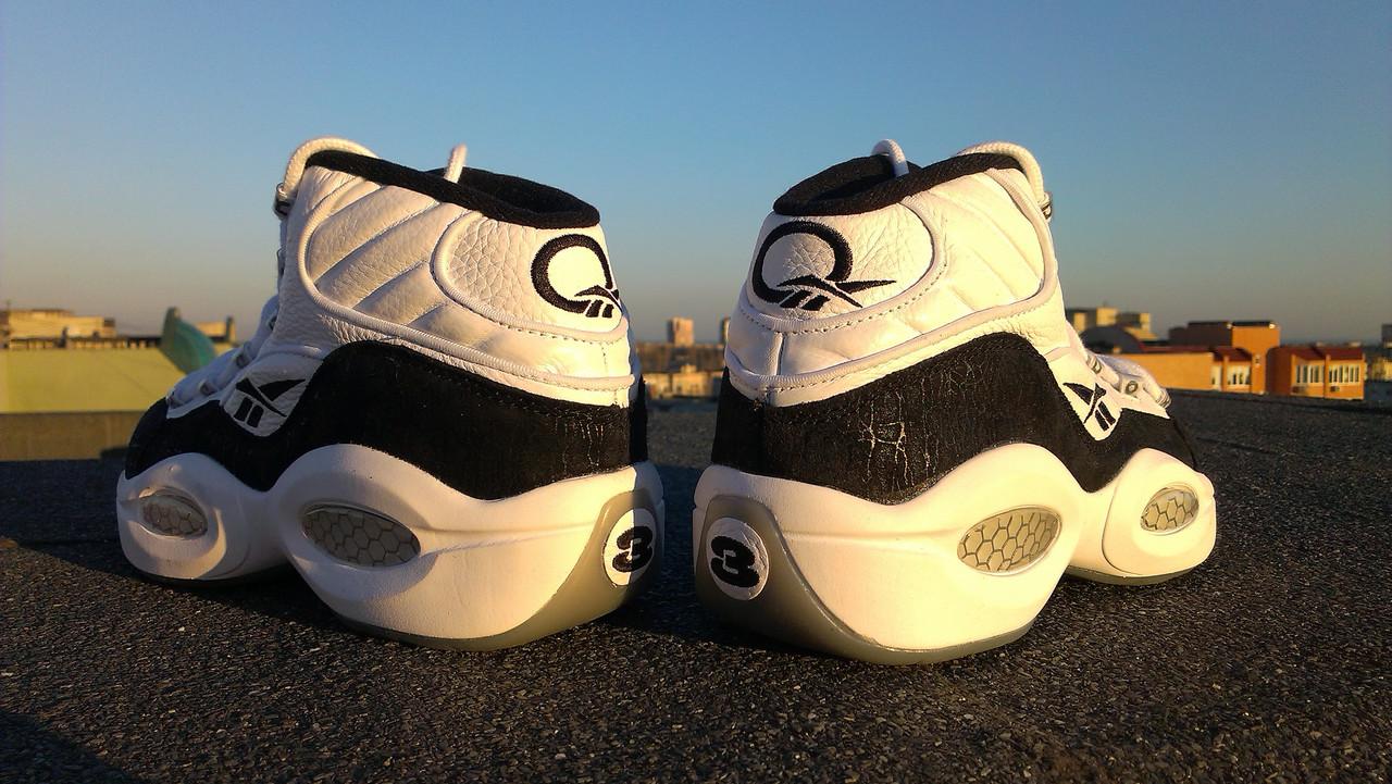 Баскетбольные кроссовки Reebok Question Mid  продажа 1d8e123b9b1e8