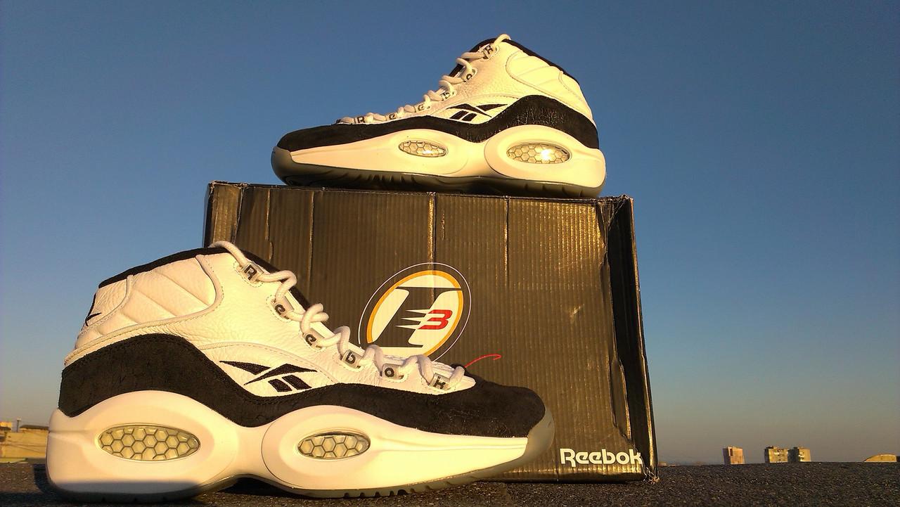 Баскетбольные кроссовки Reebok Question Mid - Интернет- Магазин