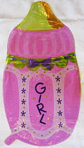 Шар фольгированный Детская бутылочка с соской