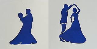 Трафарет гибкий « Свадебный танец 12*12 см »