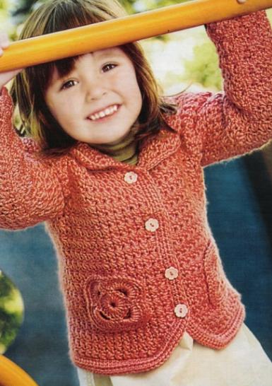 Кофты и кардиганы для девочек