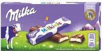 (Истек срок 22,09,2017)Молочный шоколад Milka Milkinis 0.100 гр