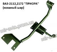 Фаркоп ВАЗ-2112,  2172 с кованым шаром