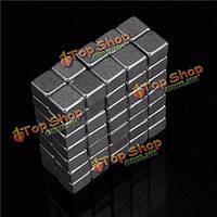 100шт 4x4x3мм N50 сильные магниты блок Mini редкоземельных магнитов неодим