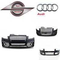 Передний бампер на Ауди Audi 100, 80, A3, A4 ,A5, A6, A7, A8, Q5, Q6, Q7,тд, фото 1
