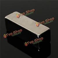 2шт N50 30x10x10мм сильные магниты блок-бар редкоземельные магниты неодим