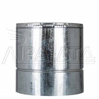 Труба-сэндвич для дымоходов (термо) 0,3 метра 1 мм н/оц AISI 321, фото 2