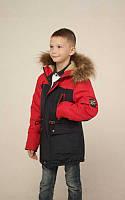 Оригинальная зимняя куртка для мальчиков
