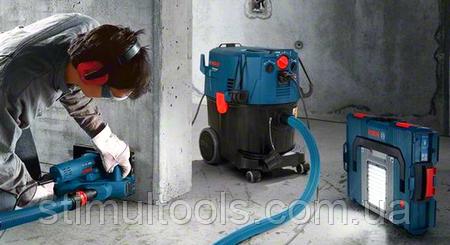 Профессиональные, промышленные, строительные пылесосы, вытяжки Bosch